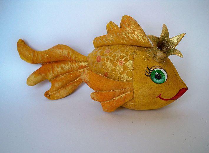 Как сшить золотая рыбка