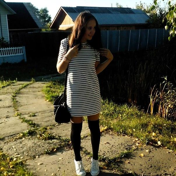 Платье в полосочку с алиэкспресс