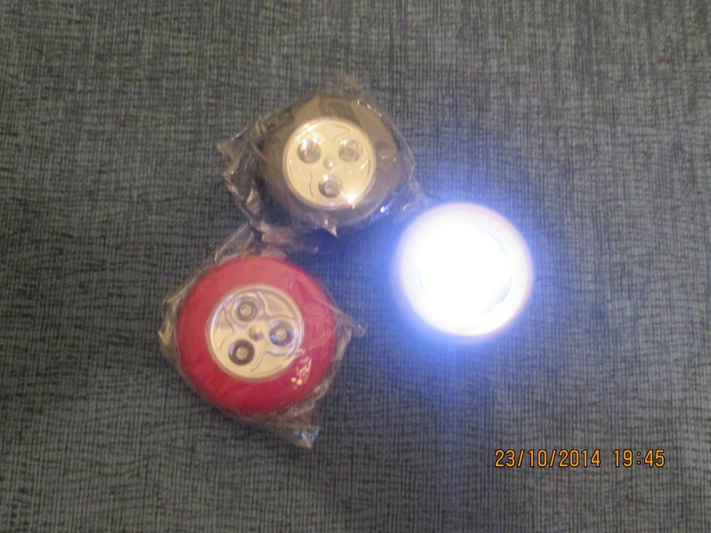 Как сделать светильник на батарейках